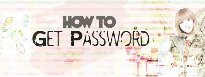 How to get password